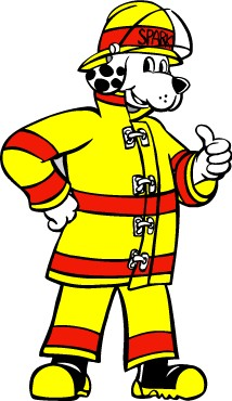Image of Sparky the fire dog